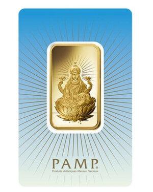 1 oz pamp suisse -Lakshmi Gold Bar