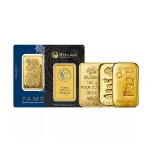 100 Gram Secondary Market Gold Bars