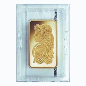10 oz PAMP Suisse Gold Bar Lady Fortuna