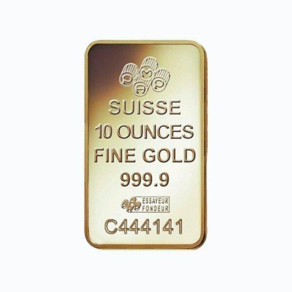 10 oz PAMP Suisse Lady Fortuna Gold Bar