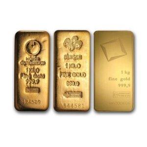 1 Kilo Gold Bar - Random Brand