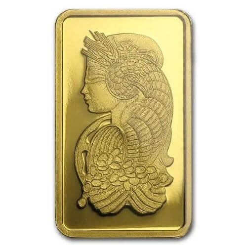 2.5 Gram PAMP Suisse Lady Fortuna Gold Bar