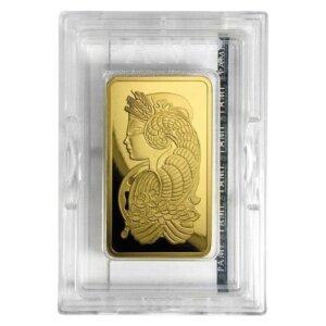 5 oz PAMP Suisse Gold Bar - Lady Fortuna