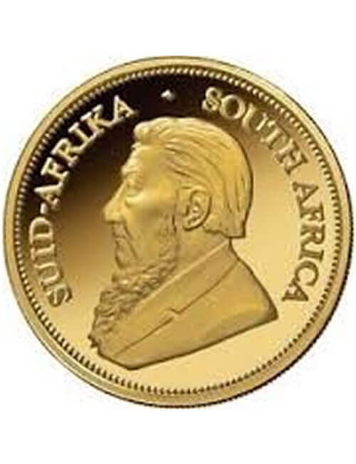 South African 1 oz Gold Krugerrand Coin