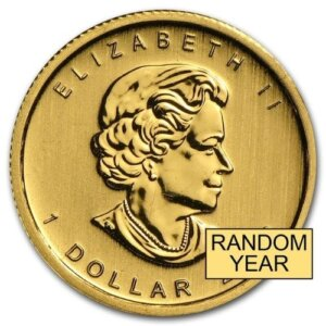 1/20 oz Gold Coin - Canadian Maple Leaf