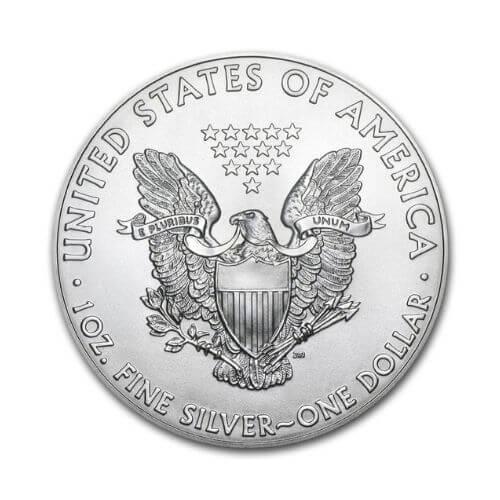 1 oz American Eagle Silver Coin