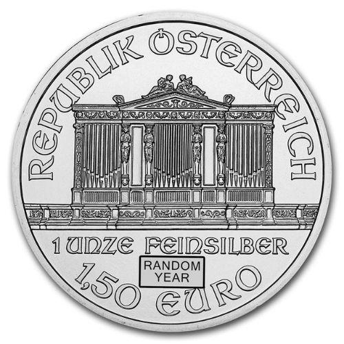 1 oz Austrian Philharmonic Silver Coin