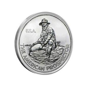 1 oz engelhard prospector silver round