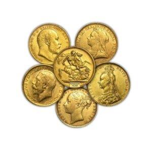 British Sovereign Gold Coins