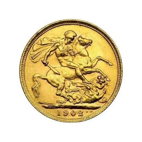 british sovereign gold coin random year