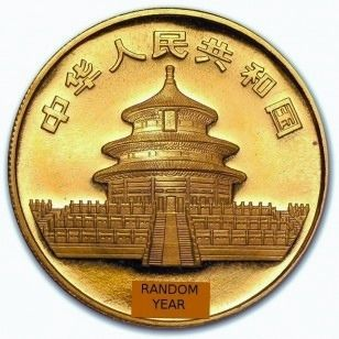Chinese 1 oz Gold Panda Coin