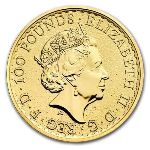 1 oz British Britannia Gold Coin Random Year