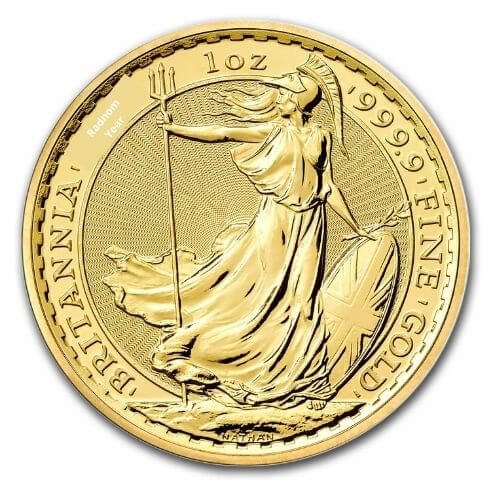 1 oz British Britannia Gold Coin