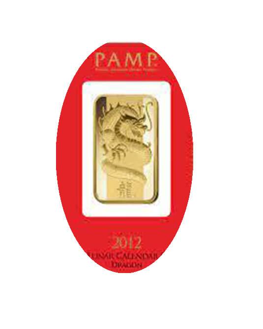 Dragon Gold Bar
