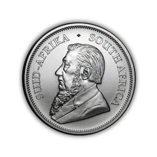 2020 South African 1 oz Silver Krugerrand Coin