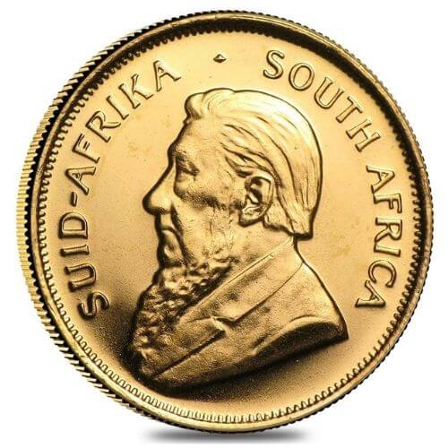 1/2 oz South African Gold Coin Krugerrand