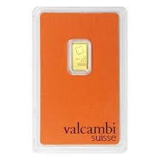1 Gram Gold Bar - Valcambi Suisse (In Assay)