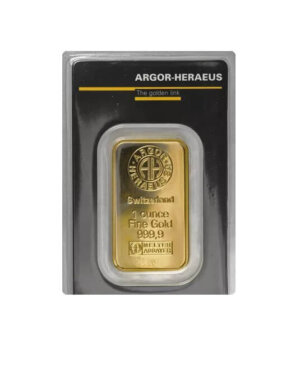 1 oz argor haraeus gold bar