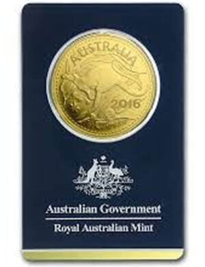 Australia 1 oz Gold RAM Kangaroo (In Assay)