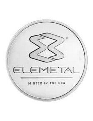 1 Oz Elemetal Silver Round