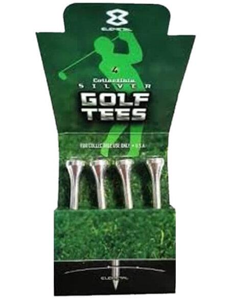 1/2 oz Silver Golf Tee | Set of 4