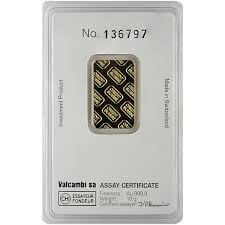 10 Gram Gold Bar - Credit Suisse (In Assay)