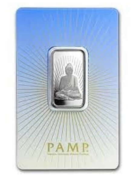 10 gram Silver Bar - PAMP Suisse Buddha (In Assay)