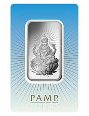 10 gram Silver Bar - PAMP Suisse Lakshmi (In Assay)