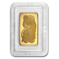 10 oz Gold Bar - PAMP Suisse Lady Fortuna (In Assay)