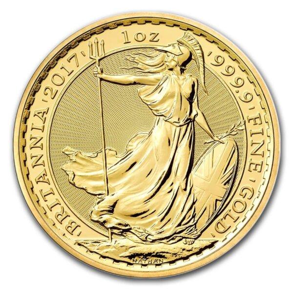 Great Britain 1 oz Gold Britannia