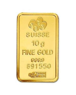 10 Gram Gold Bar - PAMP Suisse