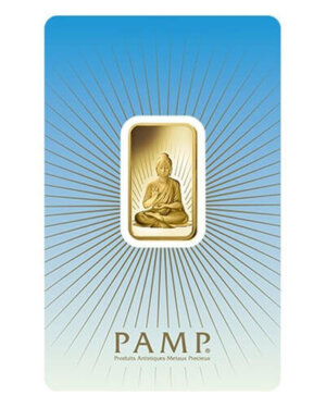 10 Gram Gold Bar - PAMP Suisse Buddha (In Assay)