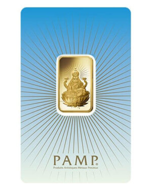 10 Gram Gold Bar - PAMP Suisse Lakshmi (In Assay)