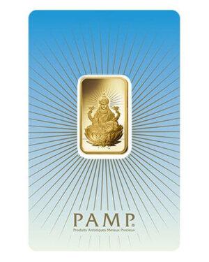10 Gram PAMP Suisse Gold Bar - Lakshmi