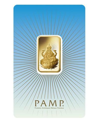 10 Gram Gold Bar - PAMP Suisse Lakshmi (In Assay)