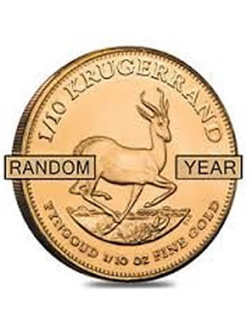 South African Krugerrand 1/4 Oz Gold Coin