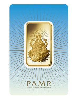 1 Oz Gold Bar - PAMP Suisse Lakshmi (In Assay)
