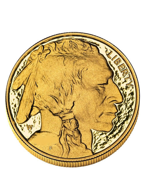 1 Oz Gold Coin - American Buffalo / Indian Head