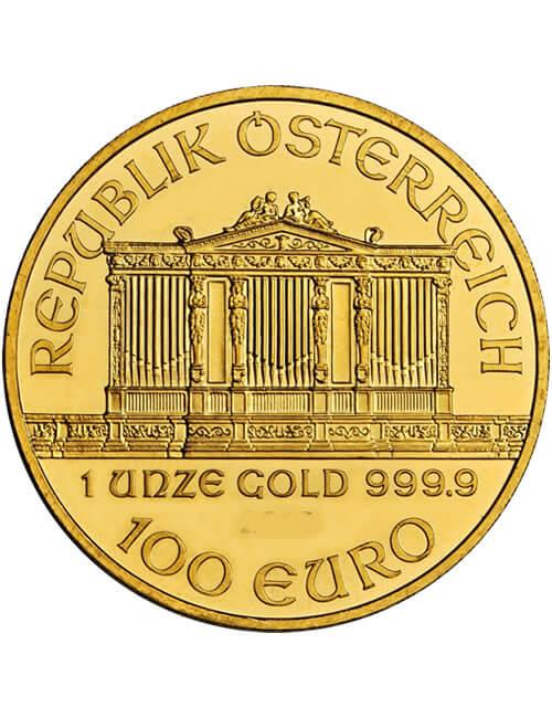 1 Oz Gold Coin - Austrian Philharmonic