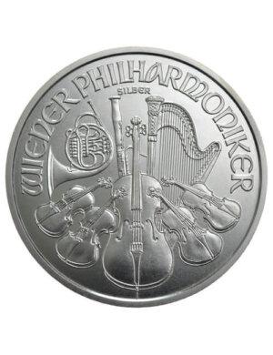 1 Oz Silver Coin - Austrian Philharmonic