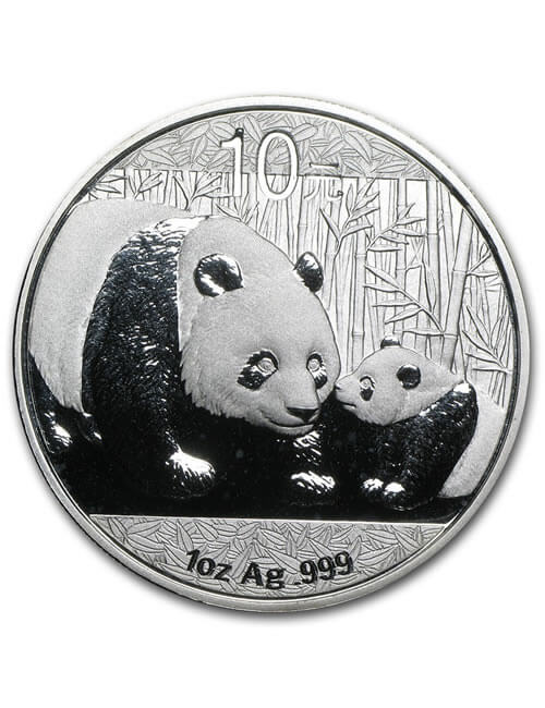 1 Oz Silver Coin - Chinese Panda