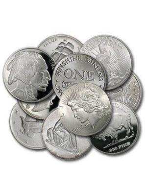 1 Oz Silver Round - Charming