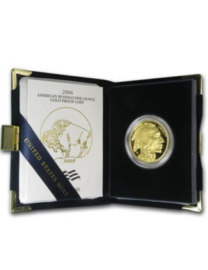 American Buffalo 1 Oz Gold Coin proof