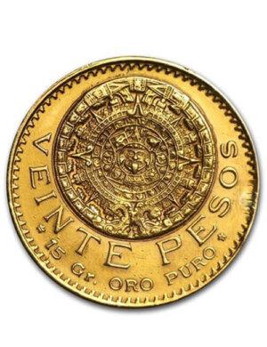 20 Pesos Gold Coin - Mexican Peso