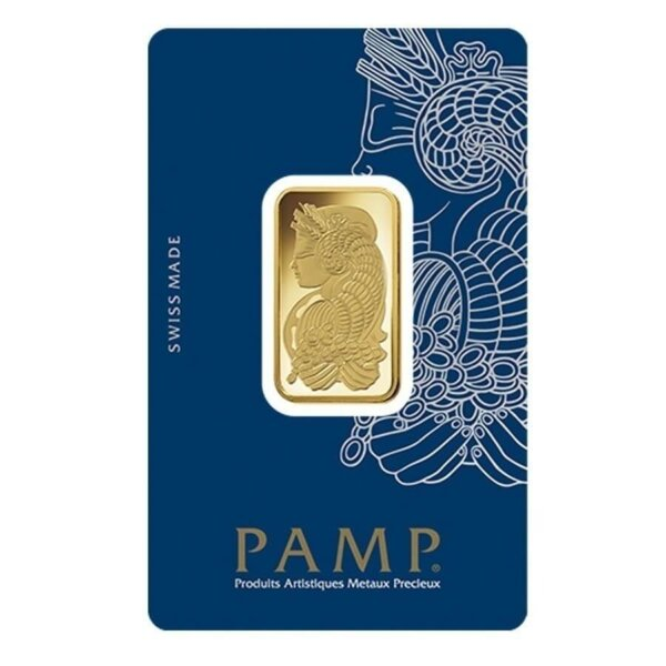 20 Gram Gold Bar - PAMP Suisse Lady Fortuna (In Assay)