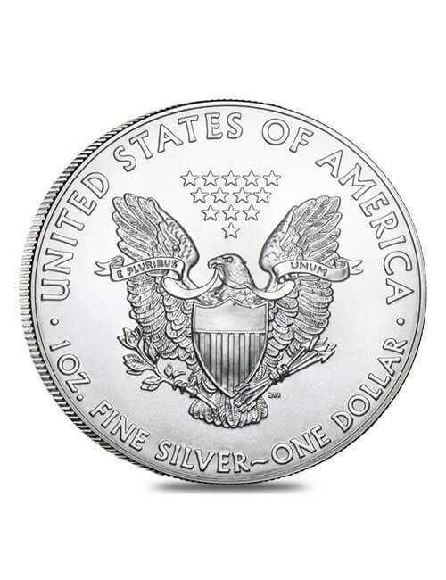 500 Oz Silver Monster Box (Random Year)- American Eagle