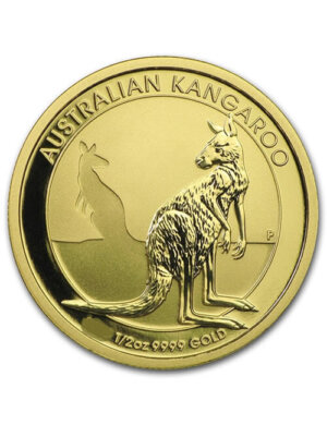 1/2 Oz Gold Coin - Australian Kangaroo