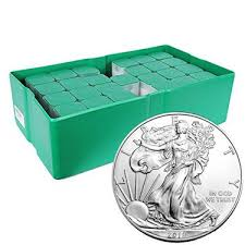 500 Oz Silver Monster Box (Random Year)- American Eagle