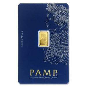 1 Gram Gold Bar - PAMP Suisse