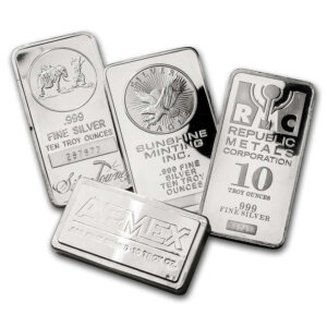 10 oz Silver BAR Secondary Market